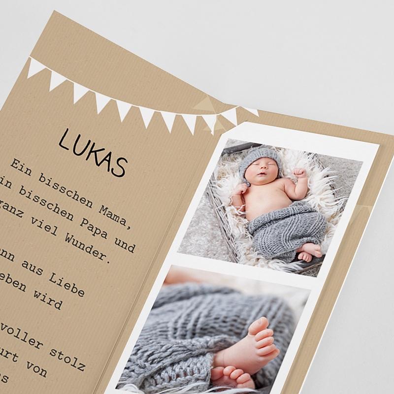 Geburtskarten Storch pas cher