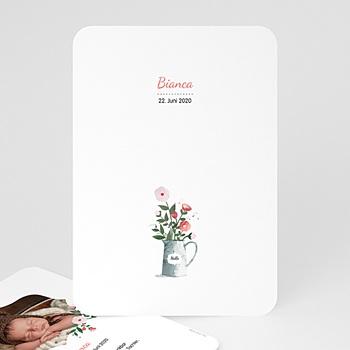 Geburtskarten für Mädchen - Blumenstrauss - 0