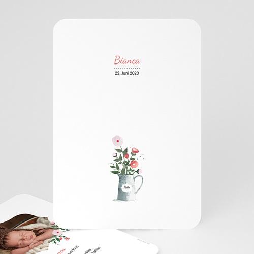 Geburtskarten für Mädchen - Blumenstrauss 54046
