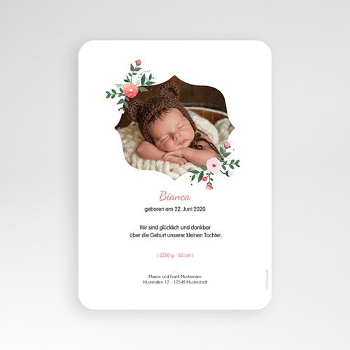 Geburtskarten für Mädchen - Blumenstrauss 54047 preview