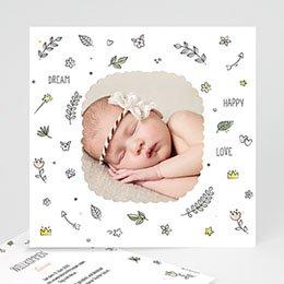 Karten Geburt Dream Happy Love