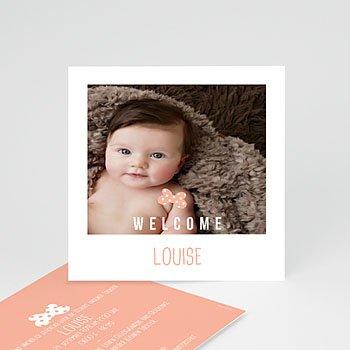 Geburtskarten für Mädchen Sofortbildkamera