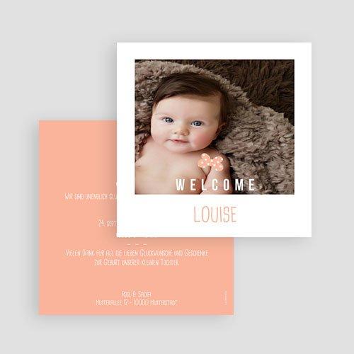 Geburtskarten für Mädchen - Sofortbildkamera 54119 preview