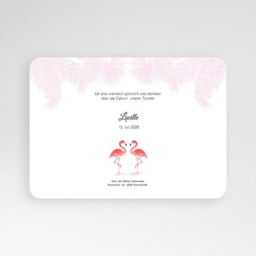 Geburtskarten für Mädchen - Tropical Flamingo 54135 test