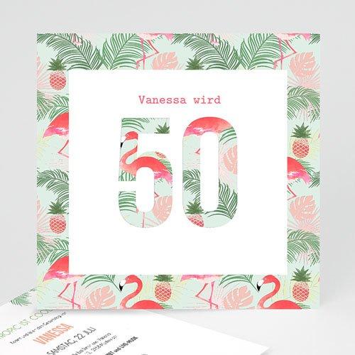 Runde Geburtstage - Tropical Party 54170