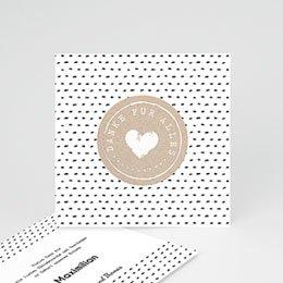 Danksagungskarten Geburt Mit Liebe