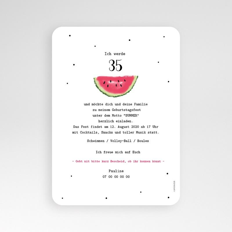 Runde Geburtstage Wassermelone pas cher