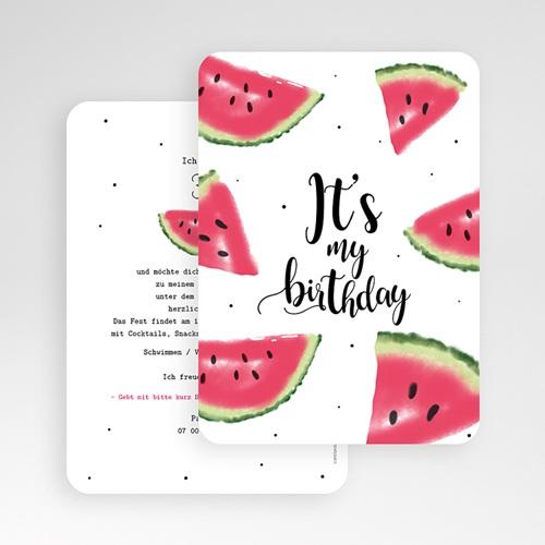 Runde Geburtstage - Wassermelone 54205 preview
