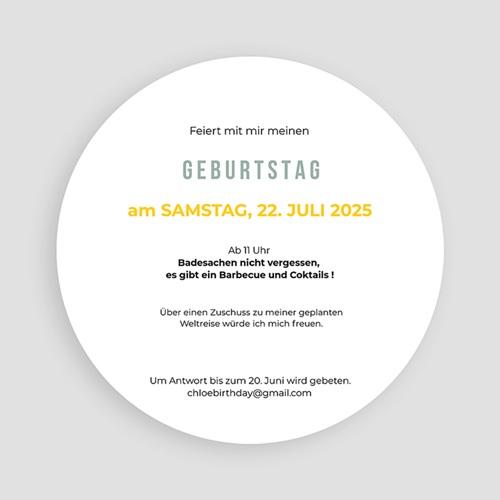Runde Geburtstage - Zitronenlimonade 54222 preview