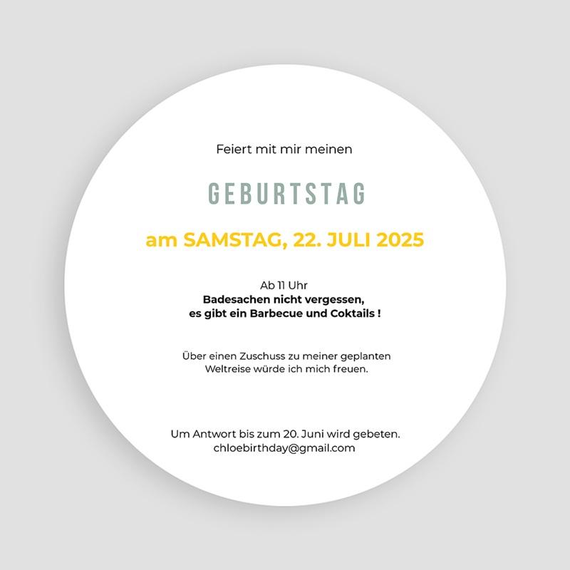 Runde Geburtstage - Zitronenlimonade 54222 thumb