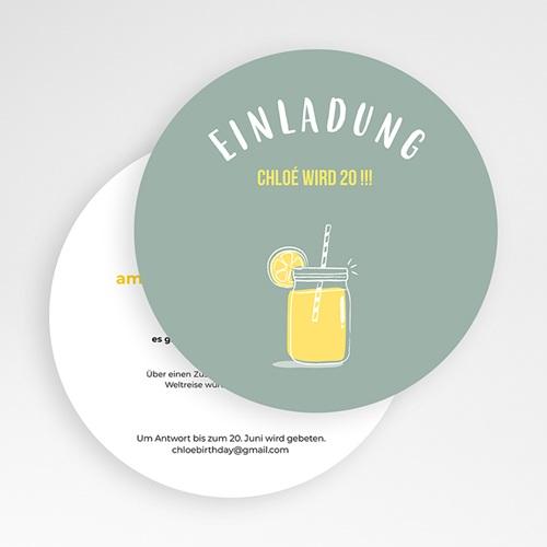 Runde Geburtstage - Zitronenlimonade 54223 preview