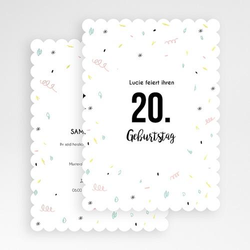 Runde Geburtstage - Luftschlangen 54250 preview