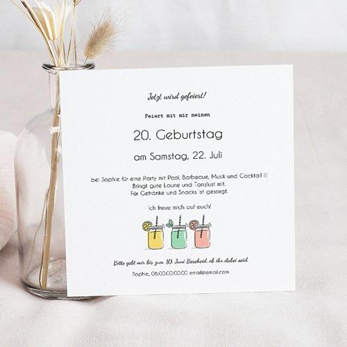 Runde Geburtstage - Minze und Zitrone 54267 preview