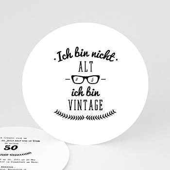 Runde Geburtstage - Birthday Vintage - 0