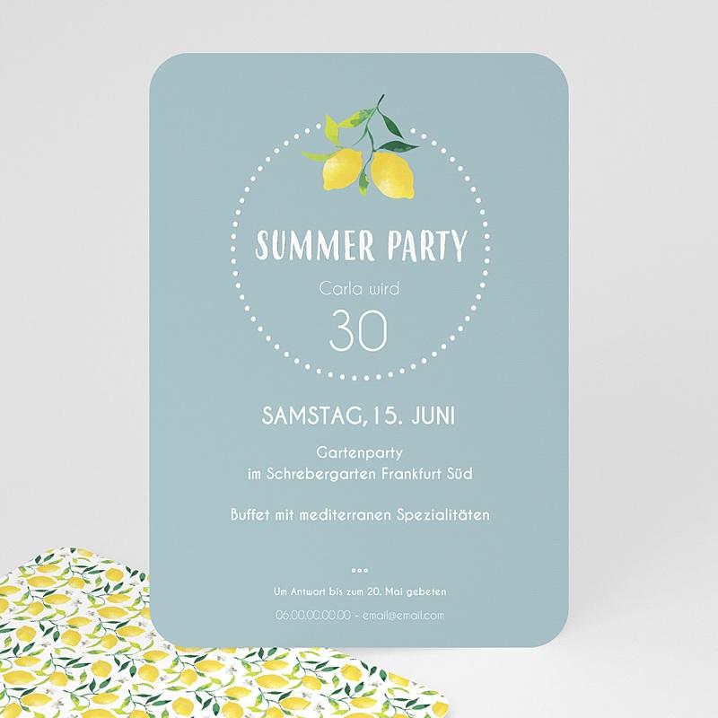 Erwachsener Einladungskarten Geburtstag Summer Party