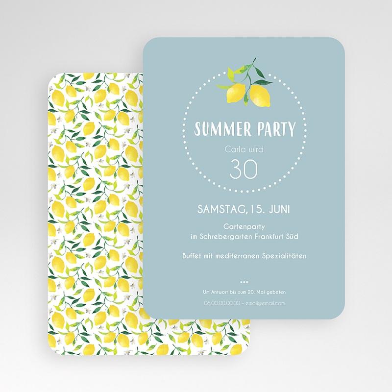 Erwachsener Einladungskarten Geburtstag Summer Party gratuit
