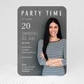 Erwachsener Einladungskarten Geburtstag Selbstporträt