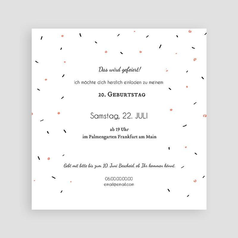 Erwachsener Einladungskarten Geburtstag Wasservogel pas cher