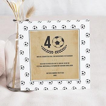 Runde Geburtstage - Fussball - 0