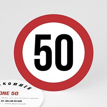 Runde Geburtstage - Zone 50 - 0