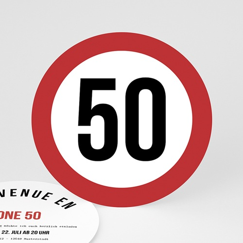 Runde Geburtstage - Zone 50 54409