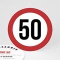 Erwachsener Einladungskarten Geburtstag Zone 50