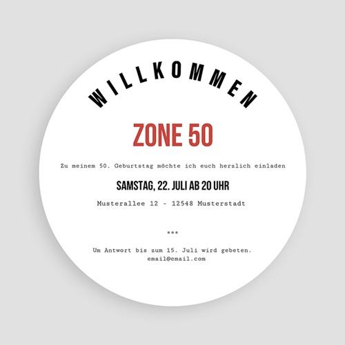 Runde Geburtstage - Zone 50 54410 preview