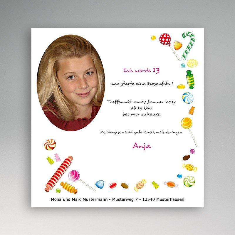 Einladungskarten Geburtstag Jungen Sweet Ballons