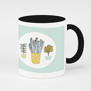 Fototassen Danke für die Pflanzen