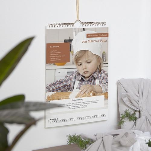 Wandkalender Kulinarisch pas cher