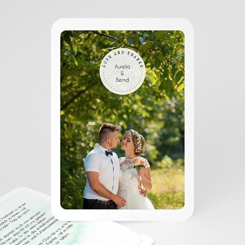 Dankeskarten Hochzeit - Thanks 54678