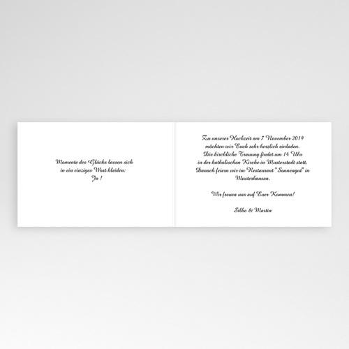 Hochzeitseinladungen modern - Festlicher bouquet 5468 preview