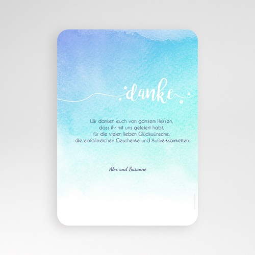Dankeskarten Hochzeit - Bildreich 54688 preview