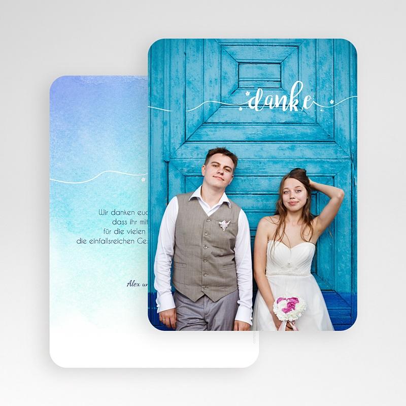Dankeskarten Hochzeit Bildreich gratuit