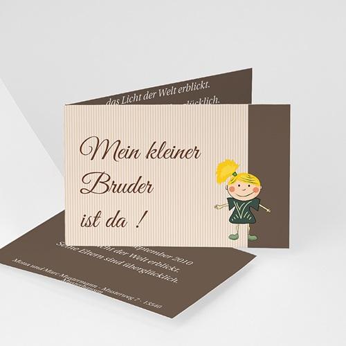 Geburtskarten für Mädchen Bärchen