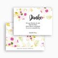 Dankeskarten Hochzeit - Romance Watercolor 54716 test