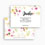 Dankeskarten Hochzeit - Romance Watercolor 54716 thumb