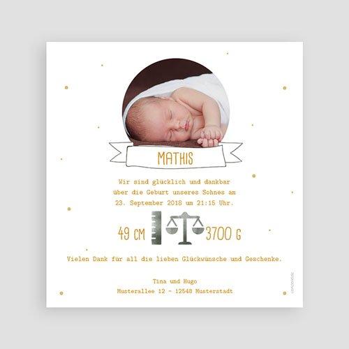 Babykarten für Jungen - Tropisches Flair 54731 preview