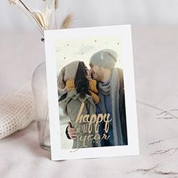 Neujahr Nouvel An Goldenes Jahr