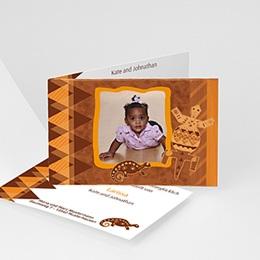 Adoptionskarten für Mädchen - Afrika - 1