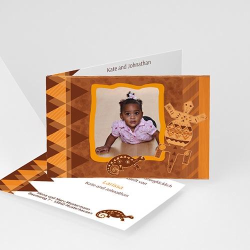 Adoptionskarten für Mädchen - Adoptionskarte Afrika 5479
