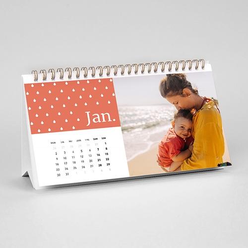 Tischkalender  - Minze & Koralle 54809