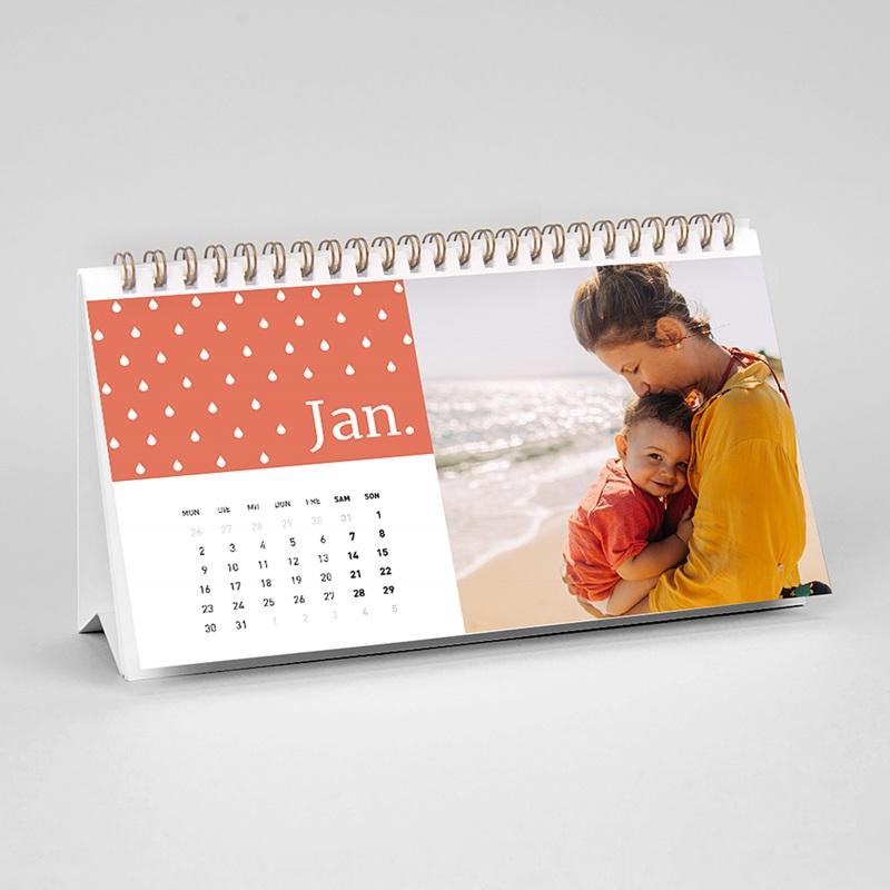 Tischkalender Minze & Koralle