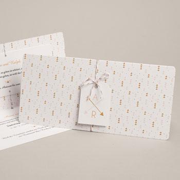 Kreative Hochzeitskarten - Goldzauber - 0