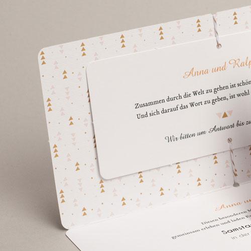 Kreative Hochzeitskarten - Goldzauber 54825 preview