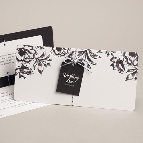 Elegante Hochzeitskarten  - Florenz 54829