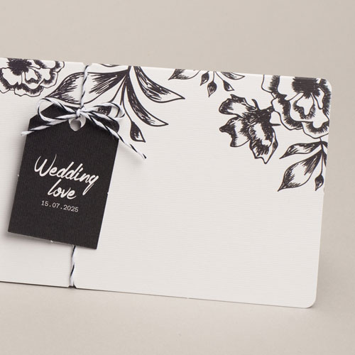 Elegante Hochzeitskarten  - Florenz 54830 preview