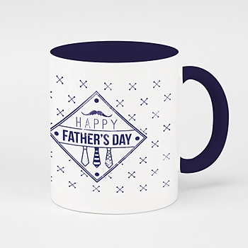Fototasse zum  Vatertag - Papa Vintage - 0