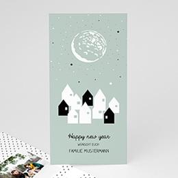 Neujahr Nouvel An Sternenstadt