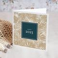 Weihnachtskarten - Goldblätter  54863 thumb